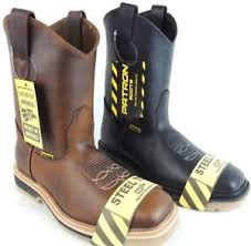 s boots s steel toe work boots safety pull on resistant genuine