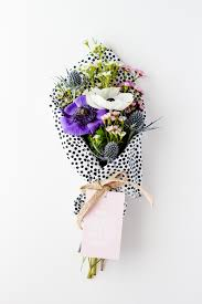 paper wrapped flowers 16 more reasons to fall for fresh flowers paper and stitch