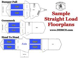 horse trailer living quarter floor plans buyers guide slant load straight load or box stall horse