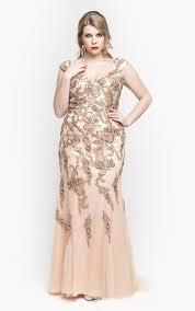 full figure formal dresses prom gowns for plus sized dorris