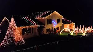 Oglebay Christmas Lights by Christmas Light Show 2 Morgantown Wv Youtube