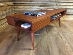 coffee table thin man mid century modern coffee table with storage