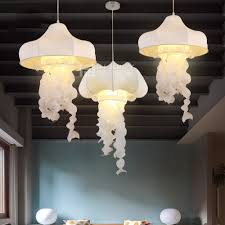 Ikea Fabric Ikea Modern Silk Fabric Jellyfish Corridor Lamp Ceiling Light