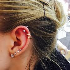 earrings on top of ear 126 best ear piercing pictures images on