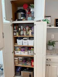 narrow depth kitchen storage cabinet how to organize a cabinet style pantry style dwell