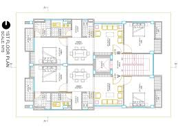 i will create your building 2d floor plan in autocad fiverr gig