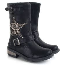 womens motorcycle boots uk daniel biker s flat biker boot