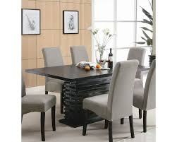 coaster dining room sets coaster stanton contemporary dining table co 102061