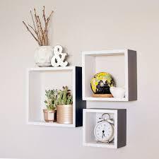 Decorative Shelves For Walls Wall Shelves Design Modern Style Square Box Wall Shelves Shelving