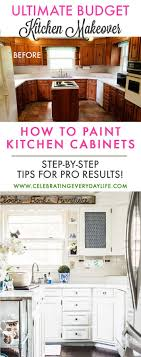 how to make cheap kitchen cabinets look better how to make cabinets look new with paint