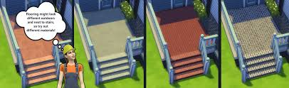Floors And Decors Building For Beginners In The Sims 4 Decks Floors Decor