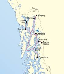 Hoonah Alaska Map by Full Welcome New