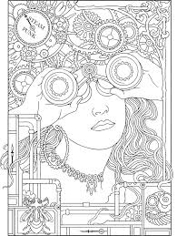 10 Adult Coloring Books To Help You De Stress And Self Express Coloring Book Page