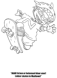 rocket power coloring pages funycoloring
