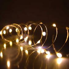 warm white ultra thin twinkling lights 30 lights 60 inches