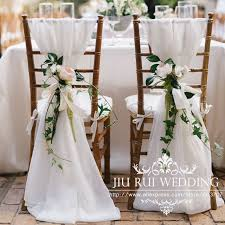 chiavari chairs wedding 80pcs free shipping white chiffon chiavari chair sash chair cover