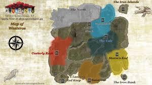 7 Kingdoms Map Seven Kingdoms Rp Rules