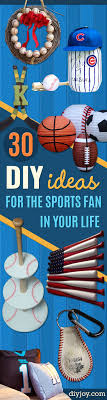 gift ideas for soccer fans 30 cool diy ideas for the sports fan in your life easy gifts diy
