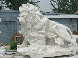 lion garden statue lion garden statue and disclaimer of impurities resin