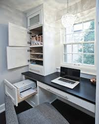 Minimalistic Desk Office Nice Hidden Office Space By The Window With Minimalist