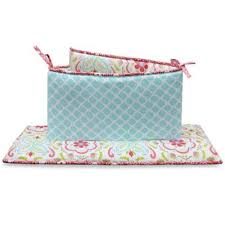 buy coral and aqua crib bedding from bed bath u0026 beyond