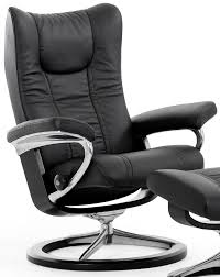 Glancing Stressless Wing Small Reclining Chair Rvs Small Recliner