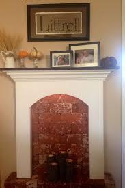 82 best faux fireplaces images on pinterest primitive decor