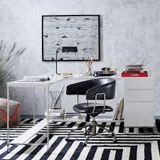 lacquer storage desk set west elm
