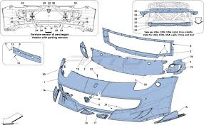 Ferrari F12 Front - ferrari f12 tdf front bumper atd sportscars