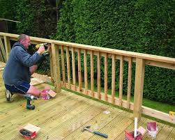 Decking Banister Deck Spindles Rona Deck Design And Ideas