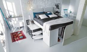 tiny bedroom without closet smart space saving bed hides a walk in closet underneath