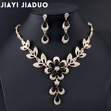 black necklace sets images Jiayijiaduo hot african female costume jewelry set for women gold jpg