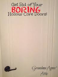 supreme hollow doors grandma agnes attic boring hollow core