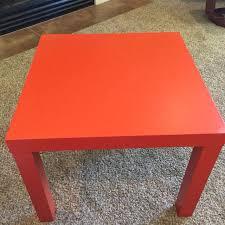 Orange Side Table Find More Ikea Lack Side Table Orange For Sale At Up To 90