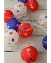 White Paper Lantern String Lights by Don U0027t Miss This Deal Beistle 52146 3 Piece Light Up Patriotic