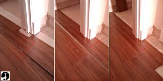 Laminate Flooring Room Dividers Laying Laminate In A Doorway