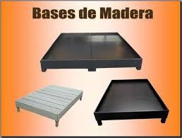 base de madera para cama individual bases para cama de madera sólida armadas con tornillos en guadalupe