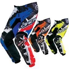 oneal element motocross boots element shocker youth motocross pants