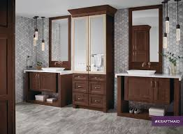 Best The KraftMaid Bath Images On Pinterest Bathroom - Floor to ceiling cabinets for bathroom