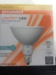 smart outdoor flood light 2 sylvania osram lightify smart dimmable led indoor outdoor flood