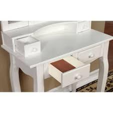 Mirrored Vanity With Drawers Makeup Tables And Vanities You U0027ll Love Wayfair