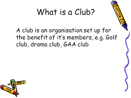 club accounts what is a club a club is an organisation set up