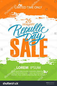 National Flags For Sale India Republic Day Sale Poster Special Stock Vector 785589553