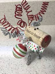 194 best wine cork ornaments images on wine cork