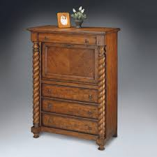 furniture compact drop front secretary desk with hutch antique