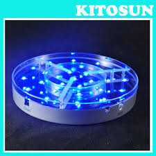 Led Light Base For Centerpieces by Led Light Base Coaster 6 Inch Vase Base Light Vase Led Light
