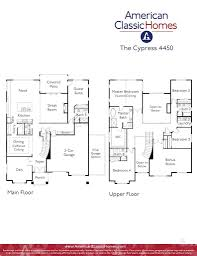classic floor plans cypress seattle wa new homes american classic homes