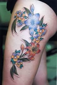 Female Leg Tattoo Ideas 7 Best Thigh Tattoos Thigh Tattoos For Girls Images On