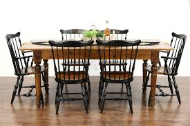 harvest dining room tables sold country pine u0026 maple 1890 antique farmhouse harvest dining