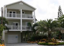 two story coastal modular home design in the florida keys built by